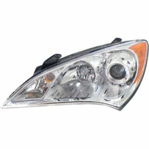 Headlight For 2010 2011 2012 Hyundai Genesis Coupe Right With Bulb