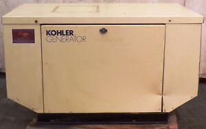 Kohler Generator 8 5rmy Cap2 8 5kw Natural Gas Or Propane 1ph 35 40amps