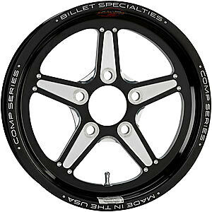 Billet Specialties Csfb35356117 Comp 5 Wheel 1pc Forged 15 X 3 5 1 pc Lug black