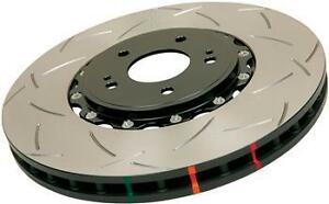 Dba 5654blks 10 5000 Series 2 piece Slotted Disc Brake Rotor With Black Hat