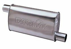 Dynomax 17747 Super Turbo Aluminized Steel 2 1 4 In out Muffler