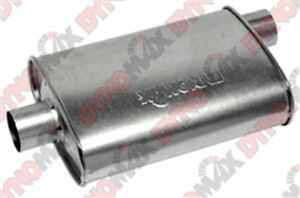 Dynomax 17744 Super Turbo Aluminized Steel 3 In Out Muffler