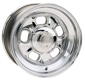 Weld Racing Rodlite Series 93 Polished Aluminum 15 X 7 Inch Wheel