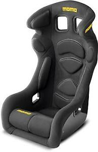 Momo 1078blk Racing Seat Lesmo One