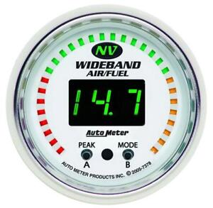Auto Meter 7378 Nv Wide Band Air Fuel Ratio Kit
