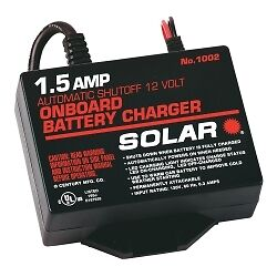 Solar 1002 Battery Charger For Marine Trickle