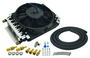 Derale Cooling Products 15900 16 pass Electra cool Trans Cooler Kit