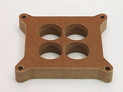 Canton Racing Products 85 150 Phenolic Carb Spacer Holley 4150 4160 4 Hole
