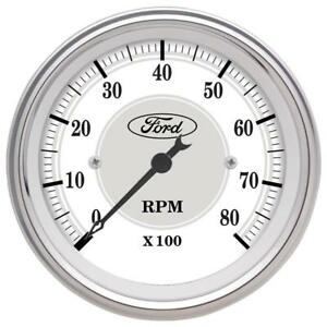 Auto Meter 880088 Fits Ford Racing Series In Dash Tachometer