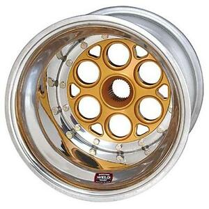 Weld Racing Wheels 735 51535 15x15 42 Spline 5in Bsinner Bead Loc
