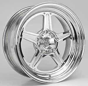 Billet Specialties Rs035606535n Street Lite Polished 15 X 6 Inch Wheel