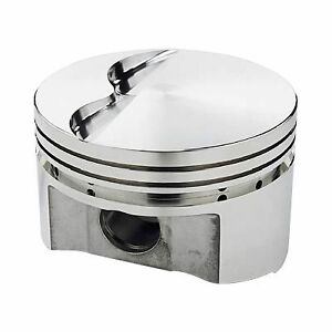 Sportsman Racing Products 138086 Srp Small Block Chevy 350 400 Flat Top Pistons