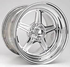 Billet Specialties Rs035106565n Street Lite Polished 15 X 10 Inch Wheel