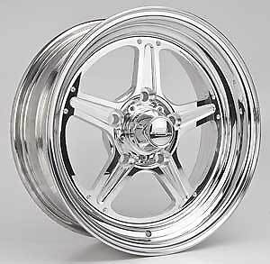 Billet Specialties Rs035606135n Street Lite Polished 15 X 6 Inch Wheel