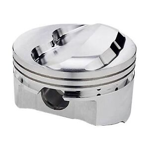 Sportsman Racing Products 140350 7cc Domed Piston Set For Small Block Chevy