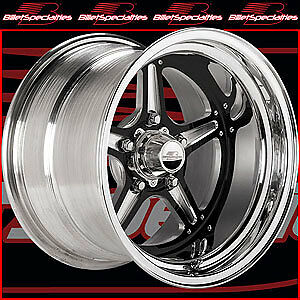 Billet Specialties Brs035106545n Street Lite Black Wheels