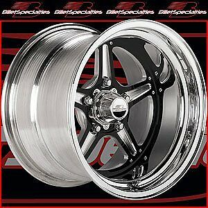 Billet Specialties Brs035106555n Street Lite Black Wheels