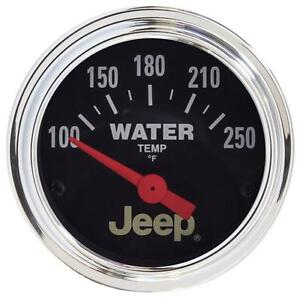 Auto Meter 880241 Fits Jeep Electric Water Temperature Gauge