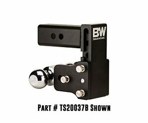 B w Ts20040b Tow Stow Double Ball Hitch 2 5 16 X 2 Balls With 2 5 Shank 7