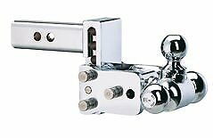B W Hitches Ts10047c Chrome 6 Tri Ball