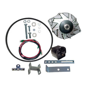 New Alternator Generator Ford 8n 2n 9n Tractor Conversion Kit 1939 1951 12 Volt