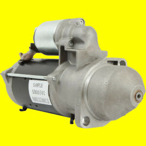 New Starter For Same Tiger Six 105 Tractor 81 87 Trident 130 81 84 72270794