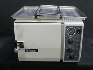 Used Tuttnauer 2540m Dental Lab Autoclave Steam Sterilizer For Instruments