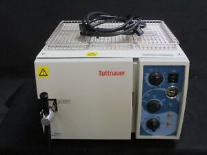 Refurbished Tuttnauer 1730 Mkv Dental Autoclave Sterilizer W 1 Year Warranty