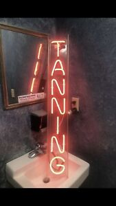 Neon Sign Tanning Led Neon Light For Tanning Salon Bed Business Tan