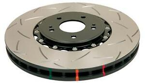 Dba 52224blks 5000 Series 2 piece Slotted Disc Brake Rotor With Black Hat Fr