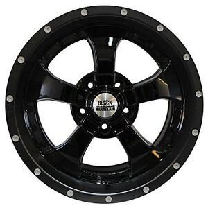 Black Mountain Products Bm1709w4 17x9 Gloss Blk Alloy Whl