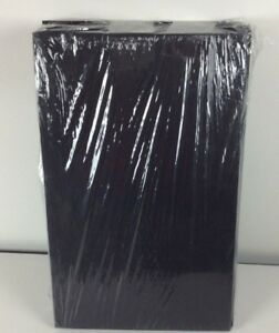 9 1 2 X 14 1 2 Presentation Folders Black Linen 50 Qty Lot Of 2