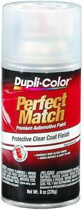 Duplicolor Perfect Match Clear Top Coat Aerosol Spray Car Paint Automotive Auto
