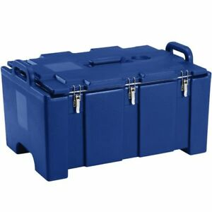 Cambro 100mpc Camcarrier Navy Blue Top Loading Pan Carrier 12x20 Hotel Pans