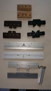 New Hermes Assorted Jigs For Engarving Machines