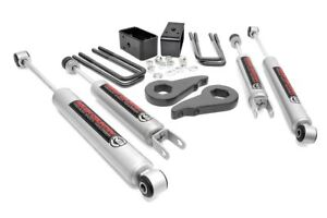 Rough Country 1 5 2 Leveling Lift Kit 99 06 Chevy Silverado 1500 4wd