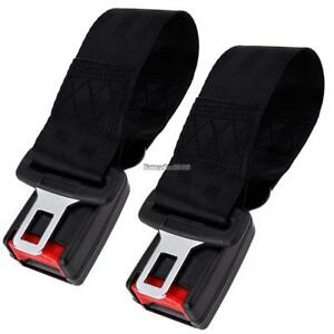 2pcs Universal Car Seat Seatbelt Safety Extender Belt Extension 7 8 Buckle New