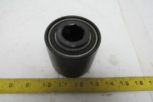 3 Crowned Face 2 5 8 W 1 Hex Bore Conveyor End Roller