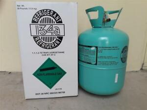 R134a 30 Lbs Cylinder Automobile Refrigerant Freon