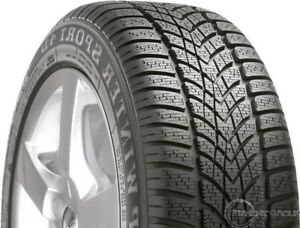 Dunlop 265029101 Superb Winter Handling And Grip For High Performance Cars