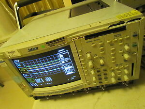 Lecroy Lc334am 500mhz 4ch Color Digital Oscilloscope