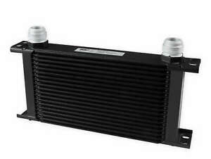 Earls 419 16erl Earls Ultrapro Oil Cooler Black 19 Rows Wide Cooler 1
