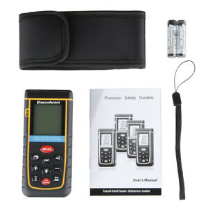 Lcd Laser Distance Metere 100m Professional Mploys Measure Distance Area Volume