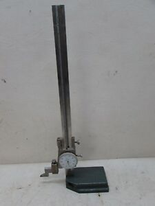 Vintage Machinist 10 Mitutoyo 509 314 Dial Height Gage 001 Inspection