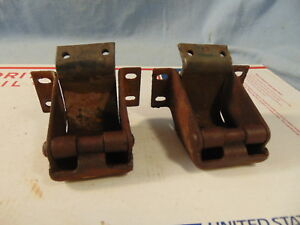 1939 1940 1941 1946 Chevrolet Pickup Truck Windshield Hinges Gmc Originals