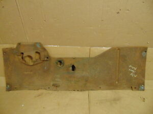 1937 1938 Chevrolet Pickup Truck Floor Pan Insert Toe Board Original Patina