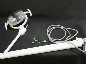 Used Adec 6300 Dental Light For Operatory Surgical Lighting C114163