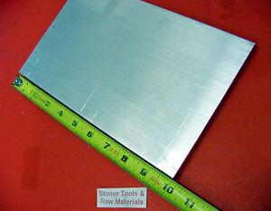 2 Pieces 3 8 x 10 X 10 Aluminum 6061 Flat Bar Solid T6511 New Mill Stock Plate