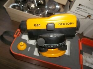 Geotop Automatic Level Dual Damping Model G20 With Case