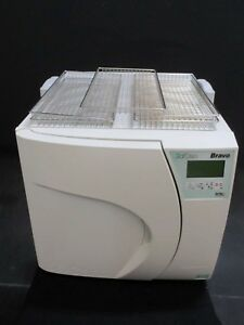 Scican Bravo 21v Dental Lab Autoclave Steam Sterilizer For Instruments